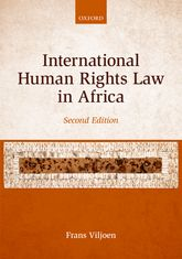 International Human Rights Law in Africa$