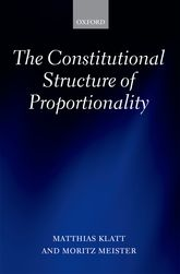 The Constitutional Structure of Proportionality$