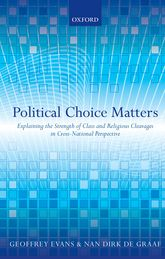 Political Choice MattersExplaining the Strength of Class and Religious Cleavages in Cross-National Perspective$
