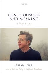 Consciousness and MeaningSelected Essays$