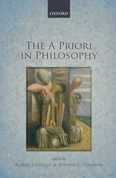 The A Priori in Philosophy | Oxford Scholarship Online