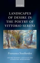 Landscapes of Desire in the Poetry of Vittorio Sereni$