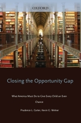 Closing the Opportunity GapWhat America Must Do to Give Every Child an Even Chance$