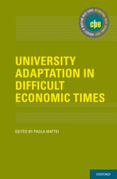 University Adaptation in Difficult Economic Times$